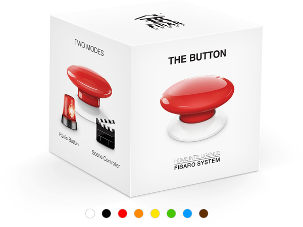 Дистанционно The Button FIBARO