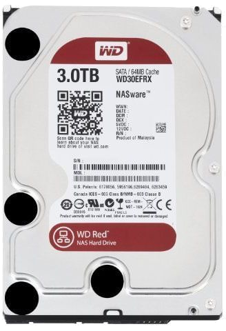 Твърд диск 3TB WD Red WD30EFRX - WD30EFRX (втора употреба)