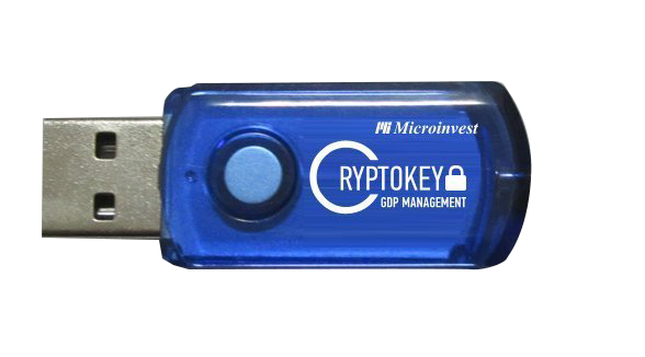 Microinvest CryptoKey GDP Management 8GB