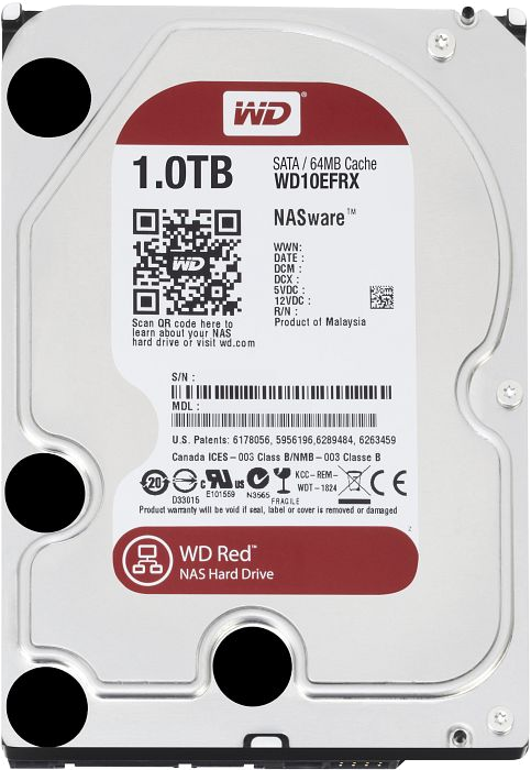 Твърд диск 1TB WD Red WD10EFRX (втора употреба)